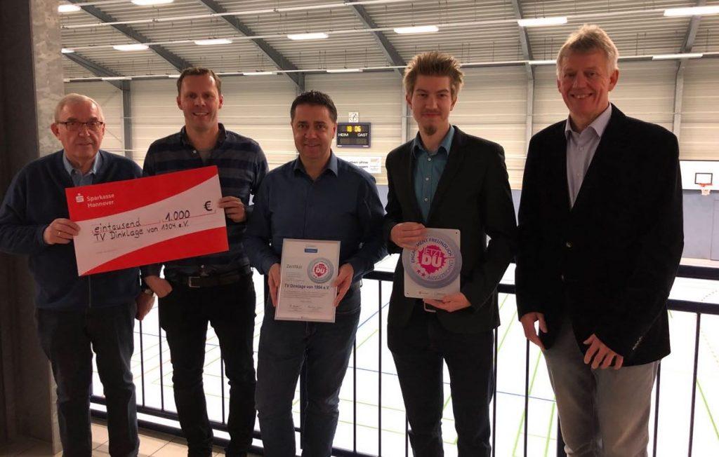 Zertifizierung engagementfreundlicher Sportverein